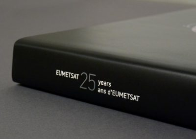 EUMETSAT History Book Design