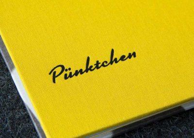 Pünktchen – Gestaltung eines Bildbandes